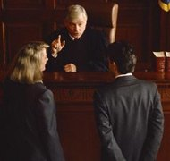 A judge can dismiss a divorce for failure to prosecute on his own motion.