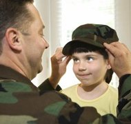 Military parents must follow civilian laws for divorce and custody.