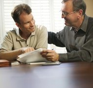 Individuals may consider a power of attorney to help with finances.