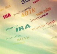 An IRA has a self-contained beneficiary and generally does not pass through a will.