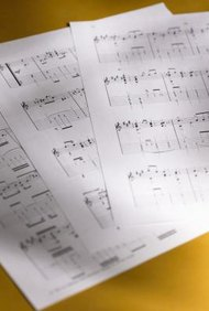 Music sheets can be registered with the United States Copyright Office.
