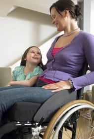 Your physical disability doesn't necessarily make you unable to parent your child.