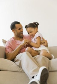 A father has the right to be in his child's life, whether he's paying child support or not.