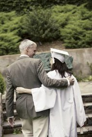 Your child's high school graduation may terminate your child support obligations.