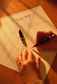 Until someone dies, his will is a private document.