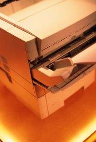 La impresora láser utiliza la electricidad estática para crear imágenes de impresión con el tóner.
