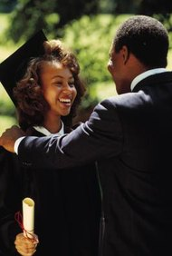 If a child is already 18, high school graduation marks the end of her parent's duty to pay child support.