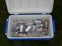 pack a perfect beer cooler