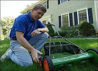 Lifting your mower higher or lower is simple.