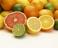 Citrus fruits like grapefruits and limes are especially good for increasing your hair's body.