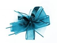 This craft bow would make a lovely hair accessory.