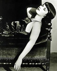 Louise Brooks was a popular silent actress during the 1920's who demonstrates the makeup and beauty trends of the time.