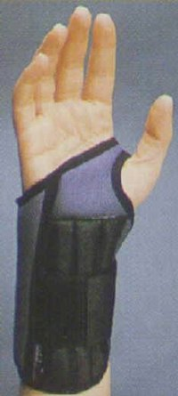 An example of a wrist brace