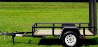 A homemade cargo trailer can be just as useful as a commercially purchased one.