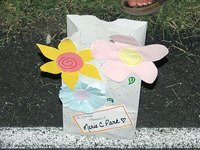 Decorate a Luminaria Bag in Memory or Honor of a Loved One