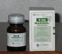 Marinol is a synthetic form of the active ingredient in marijuana.