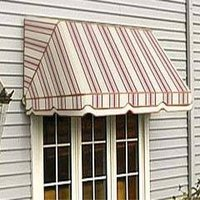 A common canvas window awning. Courtesy of anandinterior.com