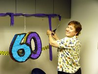 Decorating for a 60th Birthday Party