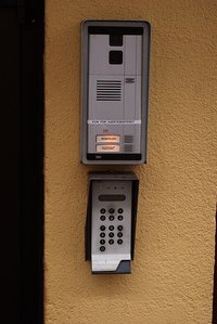 A card reader system can help improve building secuity.