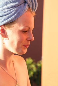 Twist a towel into a turban with ease.