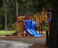 Grants for playgrounds are available from corporations and nonprofit organizations.