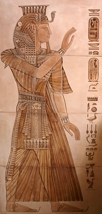 An Egyptian costume is simple to make.