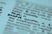 An income statement displays a corporation's revenues, expenses and net profit for a period.