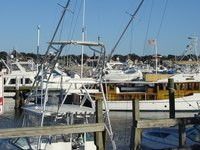Boating activities are available in Newport Harbor in Rhode Island.