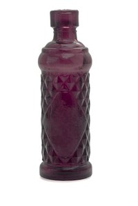 UV rays can turn antique glass purple.