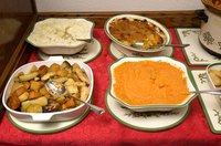 Popular soul food dishes will be  hits at  banquets.