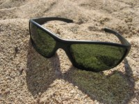 Wear sunglasses to the beach, even on cloudy days, to protect your eyes.