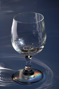 Vinegar can remove the cloudy residue from glasses.