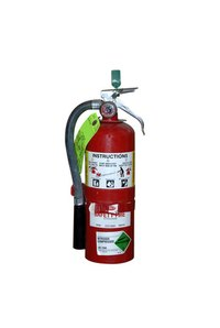 The CO2 Extinguisher comes in many different sizes.