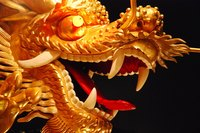 Chinese dragon costumes can be simple or highly elaborate.