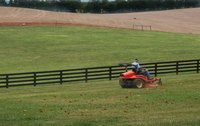 Riding mowers need regular maintenance to operate properly