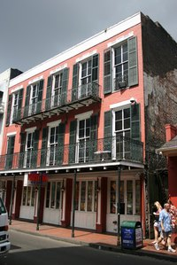 New Orleans is home to historical hotels and the infamous Bourbon Street, lined with bars and restaurants.