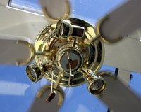 A ceiling fan would be a leasehold improvement.