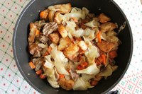 Potatoes and cabbage are staples of Irish cuisine.