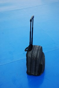 Traveling can be frustrating when a wheel breaks on your luggage.
