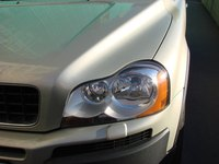 Sanding and polishing headlight covers can remove scratches and imperfections.