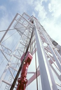 Horizontal and vertical drilling are both used in oil and gas exploration.