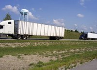 Commercial truck drivers crossing the Canadian border must follow immigration procedures.