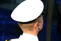 Save money by cleaning your military hat instead of incessantly buying a new one.
