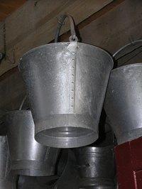 turn an ordinary tin bucket into a work of art