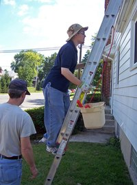 Good gutter guards can keep you off the ladder and avoiding injuries.