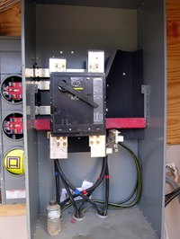 A transfer switch keeps utility power and generator power from being attached to your house simultaneously.
