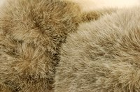 Glazing fur is a simple process, but creating the materials is much harder.