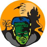 Frankenstein's monster is one of the most  recognizable Halloween monsters.