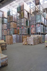 Wholesale businesses sell items in bulk.