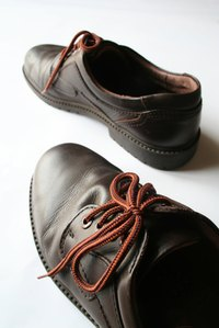 Cleaning your leather shoes can help them last longer.